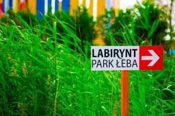Łeba Atrakcja Park tematyczny Labirynt Park