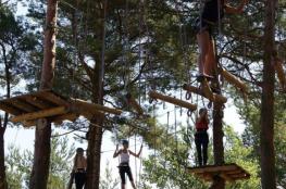 Łeba Atrakcja park linowy  POWER PARK ŁEBA