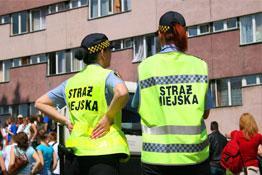 Łeba Informacja Straż miejska w Łebie