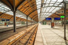 Łeba Informacja PKP Dworzec