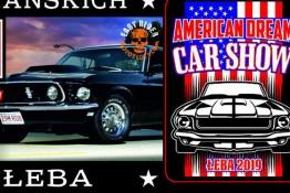 Łeba Wydarzenie Zlot samochodowy VI American Dream Car Show